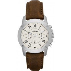 Купить Fossil Мужские Часы Grant FS4839 Кварцевый Хронограф
