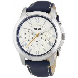 Купить Fossil Мужские Часы Grant FS4925 Кварцевый Хронограф