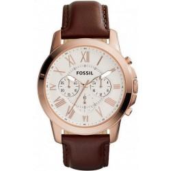Купить Fossil Мужские Часы Grant FS4991 Кварцевый Хронограф