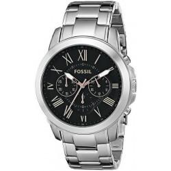 Купить Fossil Мужские Часы Grant FS4994 Кварцевый Хронограф