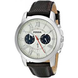 Купить Fossil Мужские Часы Grant FS5021 Кварцевый Хронограф