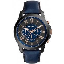 Купить Fossil Мужские Часы Grant FS5061 Хронограф Quartz