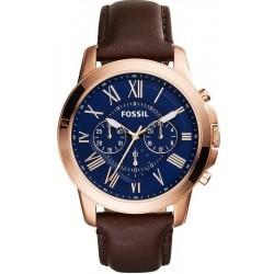 Купить Fossil Мужские Часы Grant FS5068 Кварцевый Хронограф