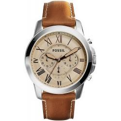 Купить Fossil Мужские Часы Grant FS5118 Кварцевый Хронограф
