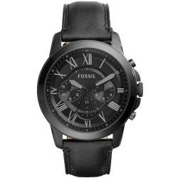 Купить Fossil Мужские Часы Grant FS5132 Кварцевый Хронограф