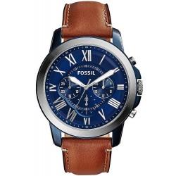 Купить Fossil Мужские Часы Grant FS5151 Кварцевый Хронограф