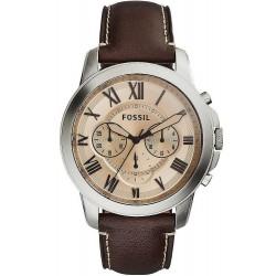 Купить Fossil Мужские Часы Grant FS5152 Кварцевый Хронограф