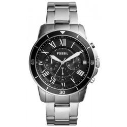 Fossil Мужские Часы Grant Sport FS5236 Кварцевый Хронограф