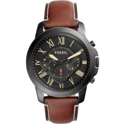Купить Fossil Мужские Часы Grant FS5241 Кварцевый Хронограф