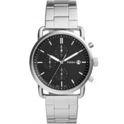Купить Fossil Мужские Часы Commuter FS5399 Кварцевый Хронограф