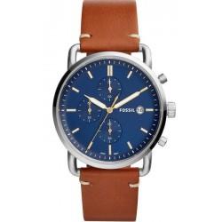 Купить Fossil Мужские Часы Commuter FS5401 Кварцевый Хронограф