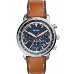 Купить Fossil Мужские Часы Goodwin Chrono FS5414 Quartz