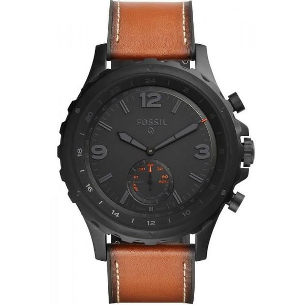 Купить Fossil Q Nate Hybrid Smartwatch Мужские Часы FTW1114