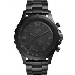 Fossil Q Nate Hybrid Smartwatch Мужские Часы FTW1115
