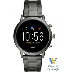 Fossil Q The Carlyle HR Smartwatch Мужские Часы FTW4024