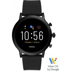 Fossil Q The Carlyle HR Smartwatch Мужские Часы FTW4025