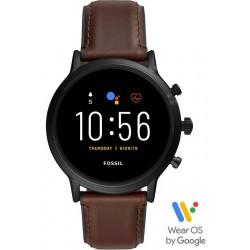 Купить Fossil Q The Carlyle HR Smartwatch Мужские Часы FTW4026