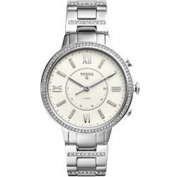 Купить Fossil Q Женские Часы Virginia FTW5009 Hybrid Smartwatch