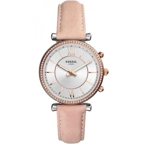 Купить Fossil Q Женские Часы Carlie FTW5039 Hybrid Smartwatch