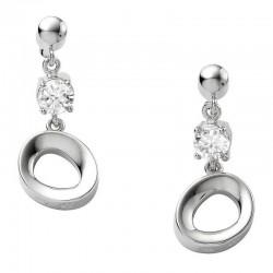 Купить Fossil Женские Серьги Sterling Silver JF14815040