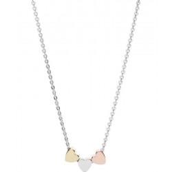 Купить Fossil Женские Ожерелье Sterling Silver JFS00400998 Сердце
