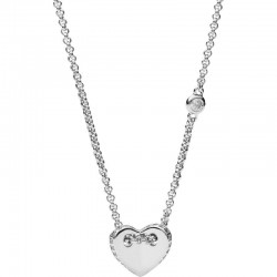 Купить Fossil Женские Ожерелье Sterling Silver JFS00425040 Сердце
