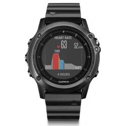 Garmin Мужские Часы Fēnix 3 HR Sapphire 010-01338-7E GPS Multisport Smartwatch