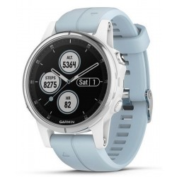 Купить Garmin Унисекс Часы Fēnix 5S Plus Glass 010-01987-23 GPS Multisport Smartwatch