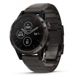 Garmin Мужские Часы Fēnix 5 Plus Sapphire 010-01988-03 GPS Multisport Smartwatch