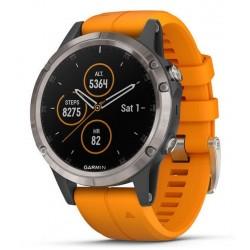 Garmin Мужские Часы Fēnix 5 Plus Sapphire 010-01988-05 GPS Multisport Smartwatch