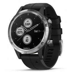 Купить Garmin Мужские Часы Fēnix 5 Plus Glass 010-01988-11 GPS Multisport Smartwatch
