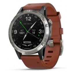 Garmin Мужские Часы D2 Delta Sapphire Aviator 010-01988-31 Aviation GPS Smartwatch