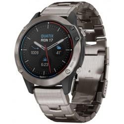 Garmin Мужские Часы Quatix 6 Sapphire 010-02158-95 GPS Marine Multisport Smartwatch
