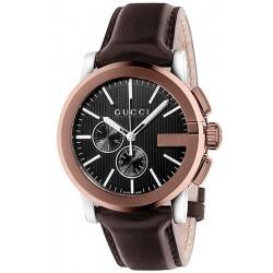 Купить Gucci Мужские Часы G-Chrono XL YA101202 Кварцевый Хронограф