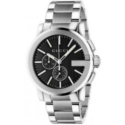 Купить Gucci Мужские Часы G-Chrono XL YA101204 Кварцевый Хронограф