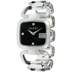 Купить Gucci Женские Часы G-Gucci Medium YA125406 Бриллианты Quartz