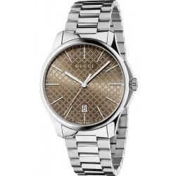 Купить Gucci Мужские Часы G-Timeless Large Slim YA126317 Quartz