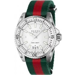 Купить Gucci Мужские Часы Dive XL YA136207 Quartz