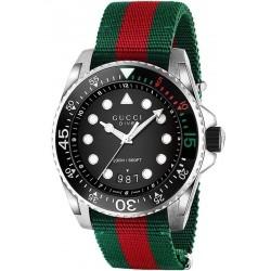 Купить Gucci Мужские Часы Dive XL YA136209 Quartz