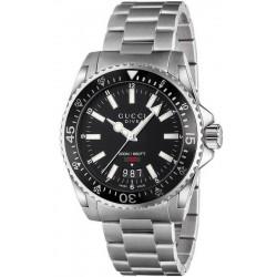 Купить Gucci Мужские Часы Dive Large YA136301 Quartz
