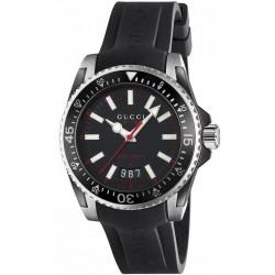 Купить Gucci Мужские Часы Dive Large YA136303 Quartz