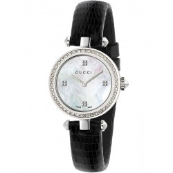 Купить Gucci Женские Часы Diamantissima Small YA141507 Бриллианты Перламутр