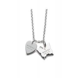 Купить Gucci Женские Ожерелье Trademark YBB22398300100U Сердце и Бабочка