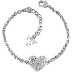 Купить Guess Женские Браслет Glossy Hearts UBB51492 Сердце