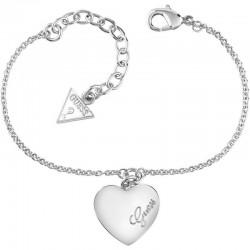Купить Guess Женские Браслет Heartbeat UBB61043-S Сердце