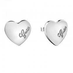 Купить Guess Женские Серьги Heartbeat UBE61053 Сердце