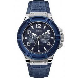 Купить Guess Мужские Часы Rigor W0040G7 Многофункциональный