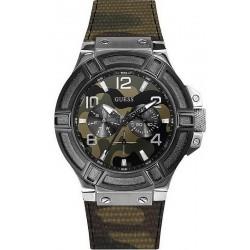 Купить Guess Мужские Часы Rigor W0407G1 Камуфляж Многофункциональный
