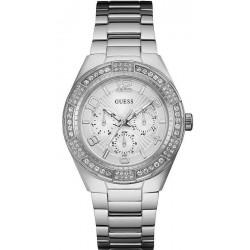 Купить Guess Женские Часы Luna W0729L1 Многофункциональный