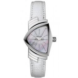 Купить Hamilton Женские Часы Ventura Quartz H24211852 Перламутр